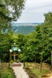 Cappella alla montagna di Dio Pocajiv Fotografia Stock