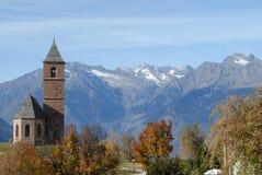 Cappella alpina Immagine Stock
