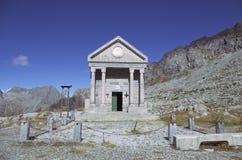 Cappella alpina Immagine Stock Libera da Diritti