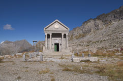 Cappella alpina Fotografia Stock