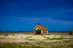 Cappella Alto Vista, attrazione di Aruba, ABC fotografia stock libera da diritti