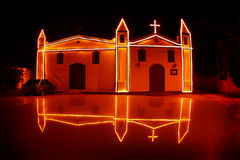 Cappella antica Ilha Bela - nel Brasile immagine stock libera da diritti