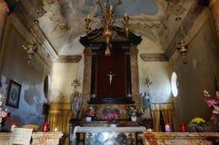 Cappella antica in Piemonte Immagini Stock