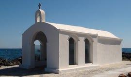 Cappella bianca Immagine Stock