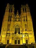 Cappella a Bruxelles immagini stock
