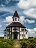 Cappella cattolica in Korenov Immagini Stock