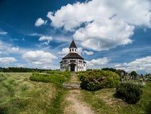 Cappella cattolica in Korenov Fotografia Stock Libera da Diritti