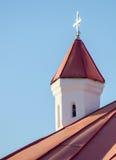 Cappella cattolica medievale nella Transilvania fotografia stock libera da diritti
