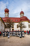 Cappella cattolica nello stile barrocco Fotografia Stock