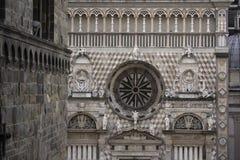 Cappella Colleoni in Bergamo stock image
