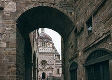 Cappella Colleoni - Bergamo - Italië stock afbeelding