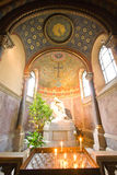 Cappella con l'altare Fotografia Stock