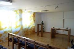 Cappella in convento delle sorelle dell'incrocio della st in Gemunden, Germania Immagini Stock