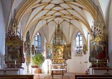 Cappella del castello di Monaco di Baviera, Germania - di Blutemburg costruita XV nel secolo Fotografia Stock