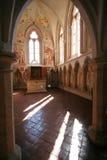 Cappella del castello Zvikov Immagini Stock