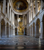 Cappella del chateau di Versailles Immagini Stock