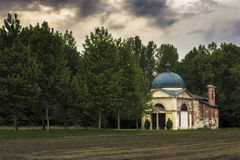Cappella del lago Fotografia Stock Libera da Diritti
