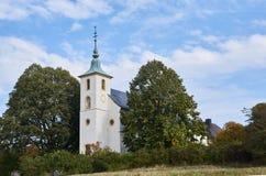 Cappella del ` s di Michael alta sulla montagna del ` s di Michael in Untergrombach immagine stock libera da diritti