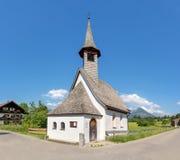 Cappella del san da temporeggiatore e di Sebastian in Kornau Immagini Stock