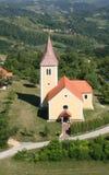 Cappella del san Vitus in Komor Zacretski, Croazia Immagine Stock Libera da Diritti