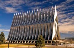 Cappella dell'accademia di aeronautica di Stati Uniti Immagine Stock