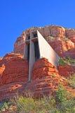 Cappella dell'incrocio santo, Sedona Fotografia Stock