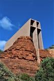 Cappella dell'incrocio santo, Sedona, Arizona, Stati Uniti immagini stock