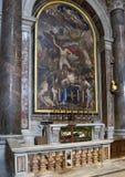 Cappella della basilica del ` s della st Sebastian Saint Peter Fotografia Stock Libera da Diritti
