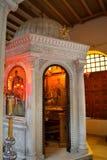 Cappella della chiesa della st Demetrios Fotografie Stock Libere da Diritti