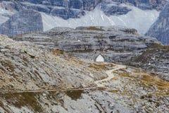 Cappella della montagna Immagini Stock