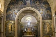 Cappella della nostra signora della medaglia miracolosa, Parigi, Francia Immagine Stock Libera da Diritti