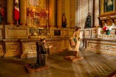 Cappella della nostra signora di Guadalupe immagini stock