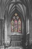 Cappella della st Katherines nella cattedrale di pozzi isolata fotografia stock libera da diritti