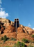 Cappella della traversa santa Immagine Stock