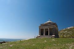 Cappella dello St Francis su Tulove Grede, Croazia Fotografia Stock