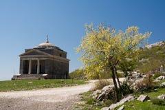 Cappella dello St Francis su Tulove Grede, Croazia Immagini Stock