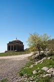 Cappella dello St Francis su Tulove Grede, Croazia Fotografie Stock