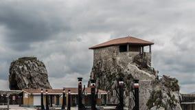 Cappella di Castro Urdiales Immagine Stock Libera da Diritti