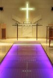 Cappella di cerimonia nuziale Immagini Stock