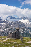 Cappella di Dachstein Fotografia Stock
