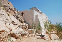 Cappella di Halki, Grecia Fotografia Stock
