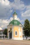 Cappella di Krasnogorsk St Sergius Lavra della trinità santa fotografia stock