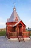 Cappella di legno Floro e Laurus Fotografia Stock Libera da Diritti