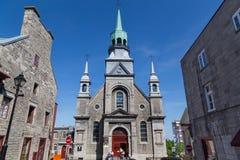 Cappella di Notre-Dame-de-Bon-Secours fotografie stock