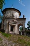 Cappella di Sacri Monte Fotografia Stock