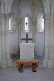 Cappella di St Philip e di Jacob, altare, Medvedgrad, Zagabria, Croazia, Europa Fotografia Stock
