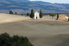 Cappella di Vitaleta Stock Photography