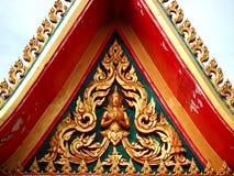 Cappella dorata del timpano Fotografia Stock