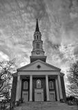 Cappella e nuvole Immagine Stock Libera da Diritti
