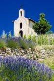 Cappella in Francia fotografia stock